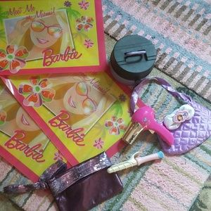 Barbie placemats.and girl.stuff